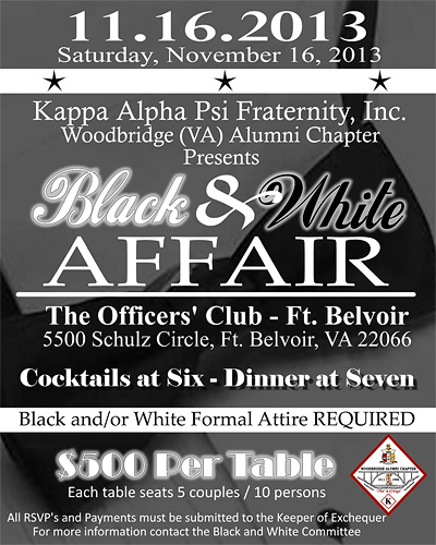 Black and White Formal Affair